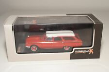 . PREMIUMX MODELS PRD212 FORD RANCH WAGON 1960 RED MINT BOXED