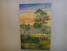 Robert Butler and Dorene Butler Original Oil on Canvas - Florida Highwayman 2001