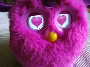 2016 Hasbro Furby Connect Bluetooth Interactive Pink Purple Plush Tested Works