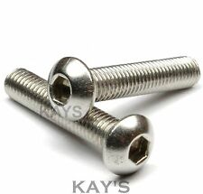 300 Pack Stainless Steel Allen Screw Button Head Bolts,Nuts,Washers,5mm,6mm,8mm
