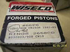 Wiseco piston kit for 1981-193 Honda CR250 new