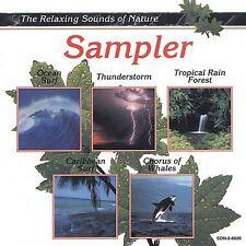 Various Artists : Relaxing Sounds of Nature: Sampler CD