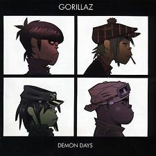 GORILLAZ CD - DEMON DAYS (2005) - BRAND NEW FACTORY SEALED COMPACT DISC