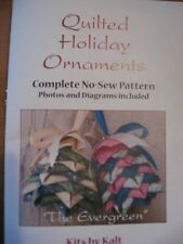 No-Sew-Ornament Quilted Christmas Tree, Full-Color-Pattern