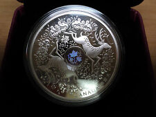2012 $15.00 Canada Maple Of Good Fortune .999 Fine Silver Coin