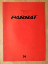VOLKSWAGEN Passat Mk1 range 1975 1976 UK Mkt sales brochure - VW LS Coupe