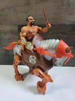 STRIDOR VTG 1983  Masters of the Universe MOTU War Horse JITSU ACTION FIG HeMan