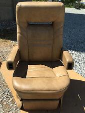 Flexsteel POWER RV Captain's Chair tan motorhome coach seat Passenger 12v Elect