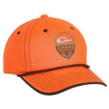 Drake Waterfowl Non Typical Hunting Blaze Orange Adjustable Back Hat Cap - NEW!