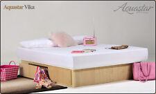 Softside brand new kingsize waterbed with optional lifetime guarantee