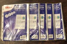 125 Mini Sheet Protectors 5.5 X 8.5 Heavy Weight