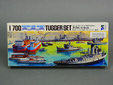 Hasegawa 1/700 TUGGER SET  Water Line Model Ship Kit #d2