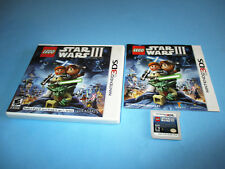 Lego Star Wars III 3 The Clone Wars (Nintendo 3DS) XL 2DS Game w/Case & Manual