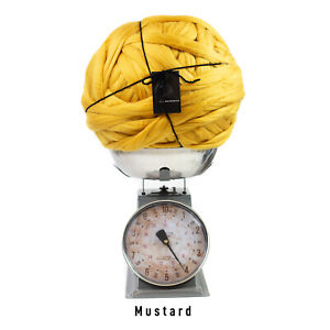 4kg  Mustard Mammoth® Thick Super Chunky Extreme Arm Knitting Acrylic Giant