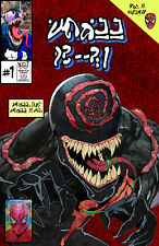 Knullified #1 - Venom Lethal Protector Cover Swipe Homage Art Print