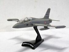 MODEL POWER #5358 Metal diecast plane AERMACCHI MB 339 1:194 NIB