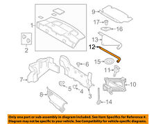 FORD OEM 10-14 Mustang Interior-Rear-Rear Trim Panel Upper Retainer W714997S300