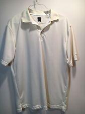Slazenger Men's Off-White Lightweight Polo Golf Shirt Size Medium