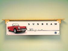 SUNBEAM TIGER Banner Workshop Garage Auto d'Epoca uso di visualizzazione