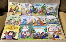 "Lot 12 MERCER MAYER Little Critter 8"" Square Children's GOLDEN Look-Look Books"