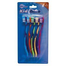 5 x Kids Bambini Spazzolino spazzolini BAMBINO Denti Dente Spazzolino Gentle MINI