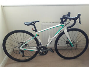 Specialized Ruby road bike 48cm frame white paintwork. Good used condition