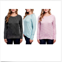 Champion Women's Long Sleeve Heather Tee Size&Color Variety NWT!!
