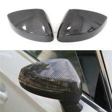 Carbon Fiber Mirror Housing Cover for Audi A3 S3 RS3 without Assist Light 2014 +