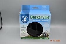 Baskerville 10-Inch Rubber Ultra Muzzle, Size-5, Black/Black - Brand New tub6