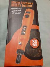 Cordless Rotary Tool Kit Lithium-Ion Battery Powered 3 Speed w / 21 Accessories