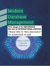 Modern Database Management by Ramesh Venkataraman(Int Ed PaperBack 12th edition)