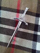 Scottish Kids Childrens Thistle Sword Kilt Pin/Highland Child Kilt Pin/Kilt Pin