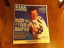 USA Weekend  Magazine Jan.  2003 SELMA BLAIR Justin Timberlake DR. TEDD MITCHELL