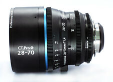 Cinematics Cine lens Nikon 28-70mm T3 PL mount for RED SONY BMCC BMPCC CANON