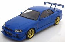1:18 Greenlight Nissan Skyline GT-R (R34) 1999 bluemetallic
