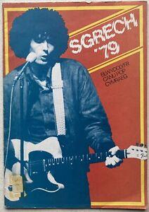 Sgrech 79 Welsh Language Pop Paperback Book. Ex Library Pb 1979