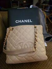 Chanel Caviar Petite Shopping Tote