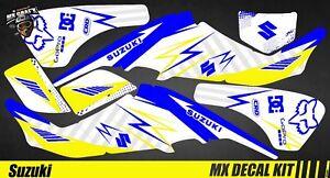 Kit Déco Quad / Atv Decal Kit Suzuki LTZ 400 - Blue Storm