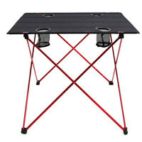 Portable Folding Camping Picnic Table Fold up Outdoor Gear Equipment Accessories