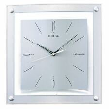 Seiko QXA330S Elegant Analogue Wall Clock - Silver