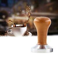 1pc For Espresso Coffee Tamper Coffee Press Flat Base Machine For Espresso O3S6