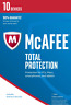 McAfee Total Protection 2018 10 PC / Geräte / 1 Jahr Vollversion