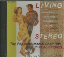 In LIVING STEREO - CD - Top Pop Instrumental Chart Hits - Volume One - BRAND NEW