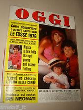OGGI=1976/14=RENATO RASCEL=GALLIANO MAZZON=MARIO MATTOLI=ESTHER PHILIPPS=LELLI B