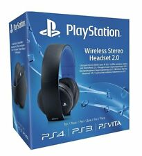 Sony PlayStation Wireless Stereo Headset 2.0 - Black (PS4/PS3/PS Vita) - New