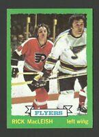 Rick MacLeish Philadelphia Flyers 1973-74 Topps Hockey Card #135 NM/M