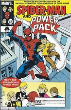 AMAZING SPIDERMAN GIVEAWAY PROMO POWER PACK 1 1992 VARIANT 1G CHILD ABUSE NM