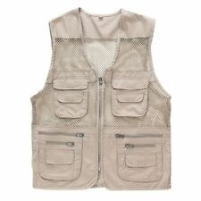 Mesh Breathable Fishing Vest Multi-pockets Photography Travel Hiking Waistcoat