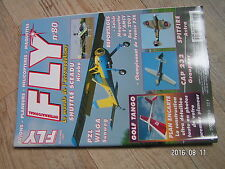 $$u Revue Fly International N°80 Plan encarte Golf Tango  Shuttle Sceadu  CAP232