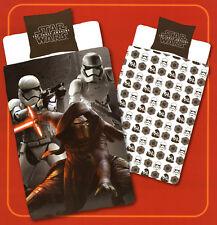 Bettwäsche Star Wars Kylo Ren u. Stormtrooper im Kampf - 135 x 200cm - Baumwolle